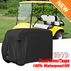 "4 Passengers Golf Cart Cover (with 2 seater roof up to 58"") Fit EZ Go,Club Car T"