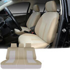 Car Seat Covers 5 Seats Semi-Custom Fabric+2 Pillows for Dodge 1608 Black $39.0 USD on eBay
