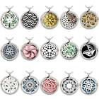 Hot Perfume Essential Oil Diffuser Necklace Aromatherapy Locket Pendant Gift on eBay