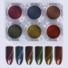 Chameleon Cat Eye Nail Glitter Powder Magnetic Mirror Nail Art NICOLE DIARY