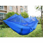 US 2 Person Travel Outdoor Camping Tent Hanging Hammock Bed With Mosquito Net