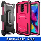 For LG Stylo 4/Stylo 3/3 Plus Phone Case Hard Armor Shockproof Rugged Back Cover