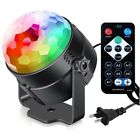 LED Disco DJ KTV Stage Lighting RGB Magic Ball Effect Party Strobe Light 7 Color