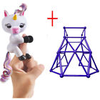 2018 Monkey Electronic Interactive Finger Toys Monkey Unicorn baby Pets Playset