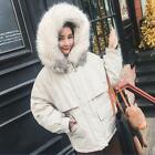 New fashion Women's Collar Hooded Chic Down Cotton Padded Winter Overcoat b1050