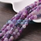 Wholesale Purple Efflorescent Agate Round Loose Spacer Beads 6mm 8mm 10mm Pick