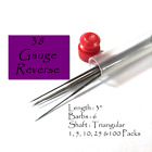 38ga Reverse Felting Needles-Choose from 1, 5, 10, 25, 50 or 100 needle pack
