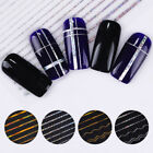 Nail 3D Decals Sticker Transfer Strip Wave Lines Holographic  Nail Art Decor