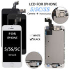 4.0 For iPhone 5 5S 5C Complete LCD Touch Display Screen Digitizer Parts Button