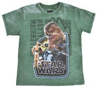 Star Wars Youth Boys Chewbacca BB-8 R2D2 Burnout Graphic T-Shirt $12.29 USD