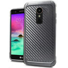 For LG Stylo 3 Plus Dual Slim Armor Hybrid Case Shockproof Cover Heavy Duty