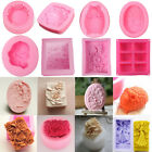 USA Silicone Ice Cube Candy Chocolate Cake Cookie Cupcake Soap Molds Mould DIY