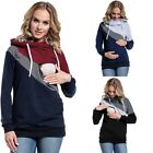 Внешний вид - Women Maternity Clothes Breastfeeding Tops Hoodie Pregnancy Nursing Tops Blouse