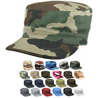 Military Fatigue Cap Tactical Uniform Hat Army Field Patrol Camouflage Fitted