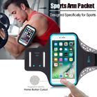 Sports GYM Running Exercise Armband Case w/ Key Slot For Apple iPhone 8 / 7 Plus