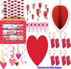 Happy Valentine Party Supplies ~ Hanging Honeycomb Ball Favors Swirl Decoration