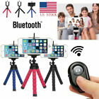 """5.5"""" Flexible Smartphone Tripod + Bluetooth Remote for iPhone Samsung US STOCK"""
