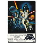 Star Wars Episode IV A New Hope Classic Movie Art Silk Poster 12x18 24x36 inch $6.23 CAD on eBay