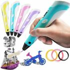 3D Stereoscopic Printing Pen Drawing Arts Crafts LCD Screen Version PLA ABS
