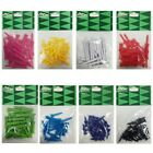 MD Golf Coloured Plastic golf Tees New Strong Graduated Short Long Length Bright