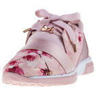 Ted Baker Cepapj Womens Trainers Pink Floral New Shoes