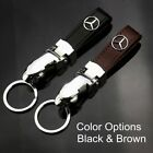 Zinc Alloy Genuine Leather Key Chain Fit For Mercedes-benz Auto High Quality $7.88 USD on eBay