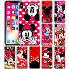 Disney Minnie Mouse Dot Pattern Phone Case Cover For iPhone Samsung LG Motorola