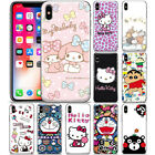 Anime Hello Kitty Cute Pattern Phone Case Cover For iPhone Samsung Motorola LG