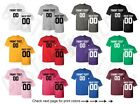 Customized Shirts Jersey Team Name Number Personalized Text Athletic Custom text