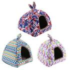 Pet Dog Cat Igloo Bed House Puppy Kennel Cave Nest Pad Warm Cozy Sleep Cushion