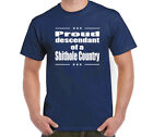 Proud Descendant Of A Shithole Country T-Shirt Size S-6XL