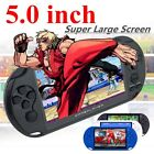 console portable - XGODY 5-inch X9 Handheld Video Game Console Portable 8GB 32bit 300 Retro Games