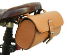 Genuine Leather Bicycle Saddle Bag Utility Tool Box kit bike vintage handmade