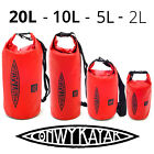HEAVY DUTY Waterproof Dry Bag 2L 5L 10L 20L Storage Pack Outdoor Kayaking Beach