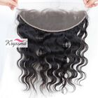 13x4 Lace Frontal Closure 7A Brazilian Body Wave Virgin Remy Human Hair Closures