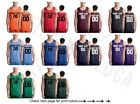 Customized Adult Jersey Team Shirts Name Number Personalized Text Basketball Tee