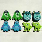 Внешний вид - 2pcs Monster University PVC Shoe Charms Shoe Accessories Fit Bracelets JIBZ