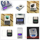 Stainless 500g 0.1g Digital Electronic LCD Jewelry Pocket Weight Scale RT