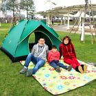 Desert Camel Automatic Tent Single-layer 4 Person Outdoor Camping Hiking Tent PN