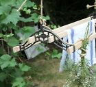 Victorian cast iron clothes dryer traditional airer