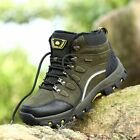 Winter Outdoor Plus-Down Climbing Shoes Lace-up Women Anti-slip Hiking Boots PN