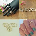 qFAB VALUE  Women's Knuckle Finger Rings Many Styles Gold or Silver (Je0)d