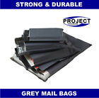 500 Pack All Sizes Grey Mailing Bags Postal Post 55MU 6x9 9x12 10x14 12x16 17x24