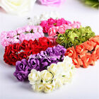 Внешний вид - 144 PCS Mini Paper Rose Flowers Bouquet DIY Crafts Favours Wedding Home Decor