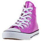 Converse Chuck Taylor All Star Hi Kids Violet Synthetic Casual Trainers Lace-up