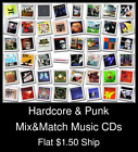 Hardcore & Punk(1) - Mix&Match Music CDs U Pick *NO CASE DISC ONLY*