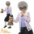 Child Deluxe Gangster Granny Costume David Walliams Book Week Day Fancy Dress