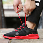 Men's Athletic Shoes Outdoor Running Trainers Sports Casual Sneakers Breathable