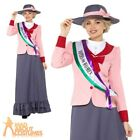 Adult Deluxe Victorian Suffragette Costume Votes for Women Book Week Fancy Dress