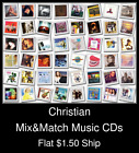 Christian(5) - Mix&Match Music CDs U Pick *NO CASE DISC ONLY*